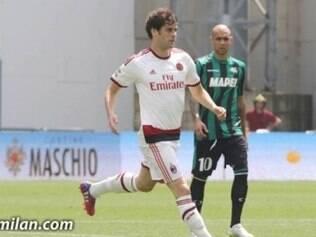Milan deixou escapar a chance de disputar um torneio europeu na próxima temporada com o revés