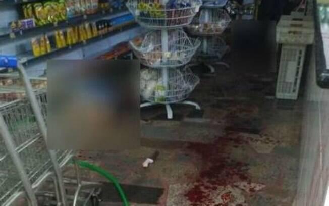 Imagens nas redes sociais mostram como ficou o local após o ataque