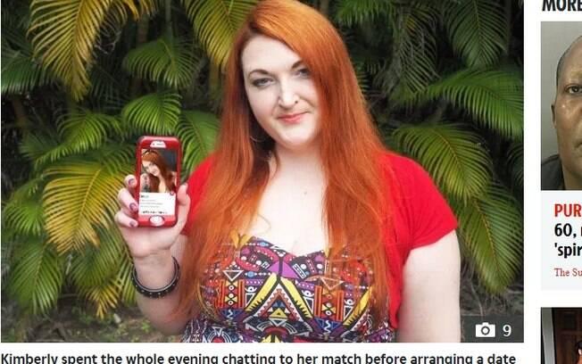 Kimberly Anne já estava marcando um encontro com um match do Tinder quando descobriu que, na verdade, ele estava noivo