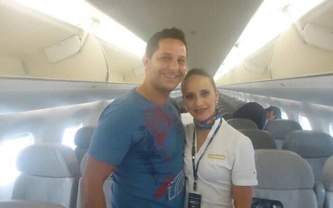 Michelli Nogueira trabalhava na companhia aérea Azul (10.03.15)
