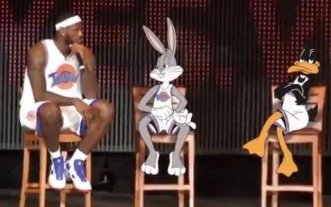 Astro da NBA, LeBron James 'substitui' Michael Jordan na continuação do longa de 1996