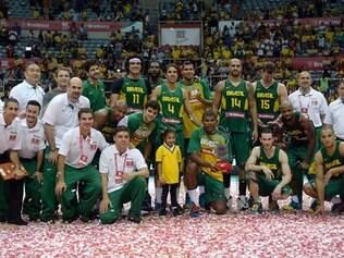 Seleção brasileira segue se preparado para o Mundial de Basquete, que será realizado na Espanha