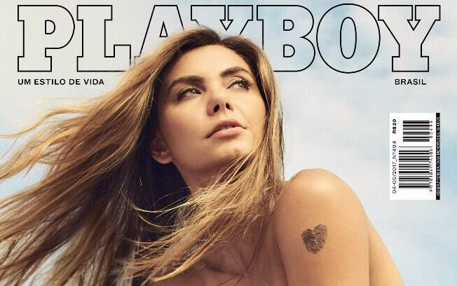 Leticia Datena estampa capa da Playboy de abril