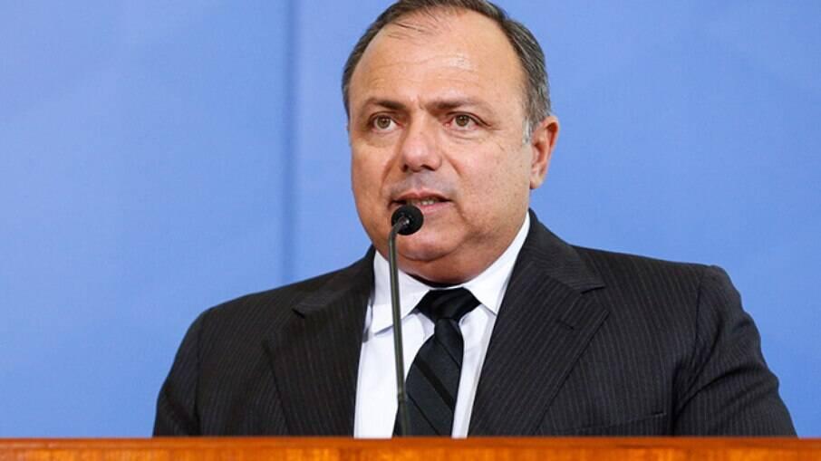 Ministro da Saúde, general Eduardo Pazuello