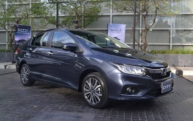Honda City renovado aparece na Tailândia e será praticamente igual ao que será lançado no Brasil no início de 2018