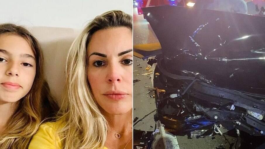 Joana Prado desabafa sobre acidente
