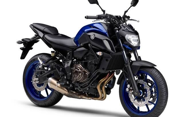 yamaha mt 07 2019 lan ada com design e suspens o renovados motos ig. Black Bedroom Furniture Sets. Home Design Ideas