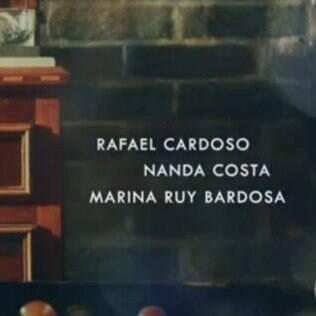 Nome de Marina errado na abertura
