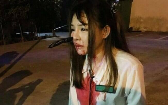 Adolescente que não teve identidade divulgada estava voltando do trabalho quando foi abordada e atacada com faca