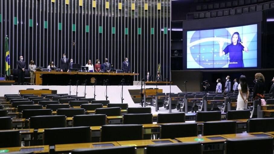 Câmara dos Deputados derrubou veto de Bolsonaro