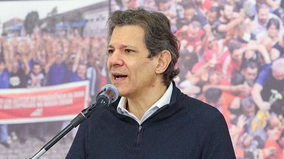 Ex-prefeito de São Paulo Fernando Haddad (PT)