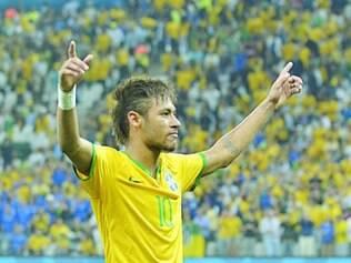 Hoje, contra Camarões, Neymar é uma das principais esperanças do Brasil