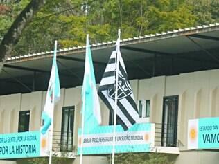 Intercâmbio.   Argentina ficou na Cidade do Galo durante a Copa do Mundo e o Atlético se prepara em Ezeiza para a Recopa