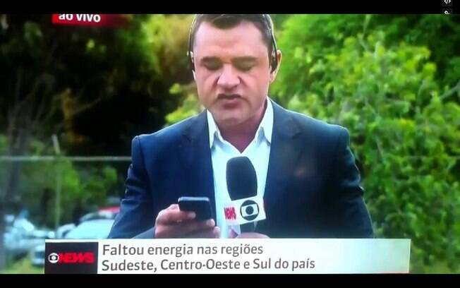 Um repórter da Globo News tentou por repetidas vezes pronunciar o nome do bairro Jacarepaguá. Ao vivo, acabou desistindo da missão