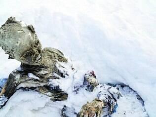 Múmias foram encontradas a mais de 5.600 metros de altitude