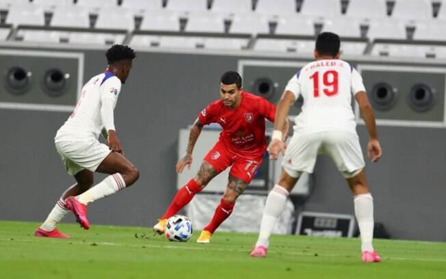 Dudu marcou seu primeiro gol pelo Al-Duhail