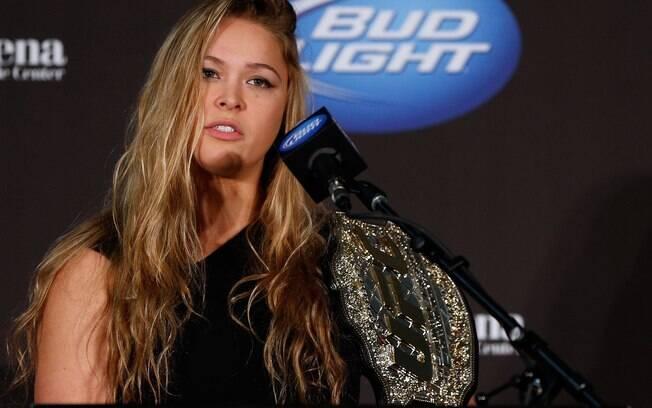 Ronda Rousey foi a primeira campeã do UFC