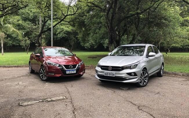 Nissan Versa e Fiat Cronos: sedãs compactos continuam vendendo bem e com novidades no Brasil, mesmo com a invasão dos SUVs