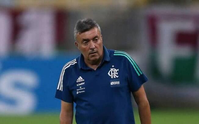 Domenéc, treinador do Flamengo