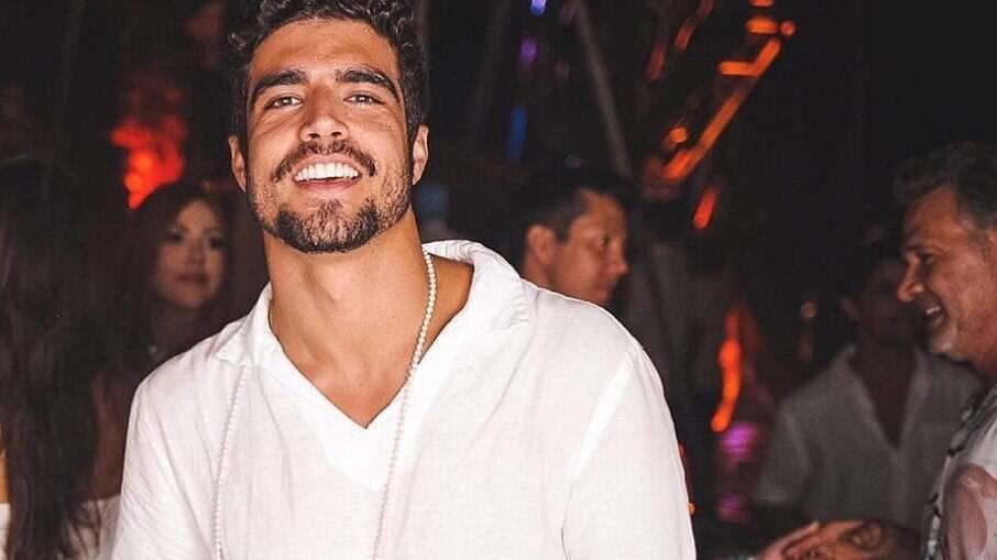 Caio Castro negou que apresentará 'A Fazenda'