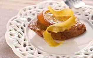 Rabanadas com calda de limão