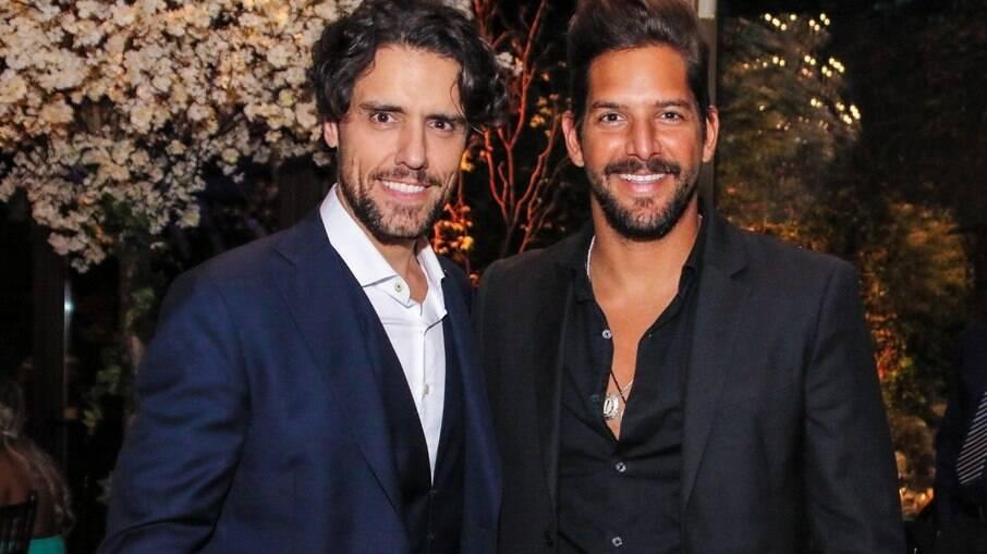 Thiago Arancam e Felipe Pezzoni, da banda Eva