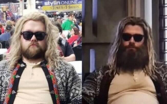 Cosplay de Thor Gordo ganha musculatura em Comic-Cons ao redor do mundo