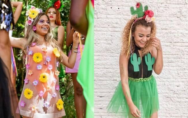 Além do girassol, apostar em outras flores pode ser ótimo para o carnaval, assim como o cacto