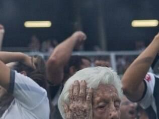 A foto da torcedora do Atlético conquistou os internautas
