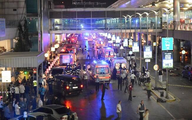 O aeroporto de Istambul é o principal do país e serve como ponto de conexão para diversos países