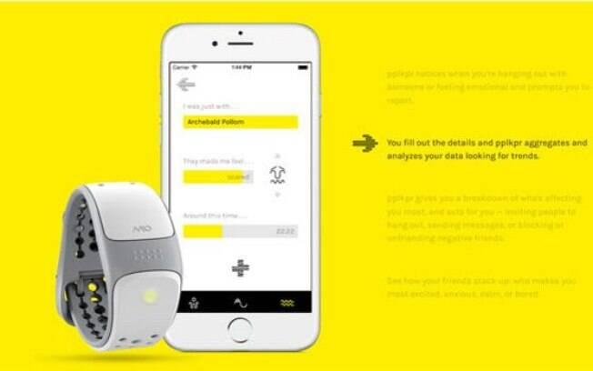 App é sincronizado com monitor de batimentos cardíacos para saber como relacionamentos afetam usuário