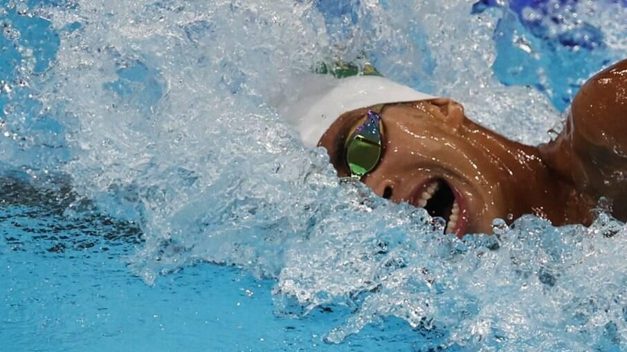 Guilherme Costa fica em 8º lugar na final dos 800m livre