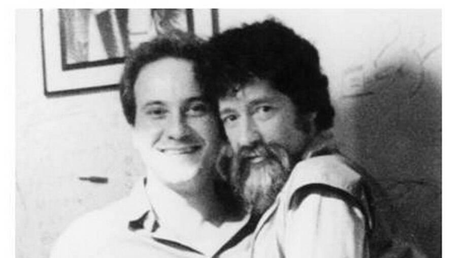 Mario Luiz Thompson ao lado de Raul Seixas