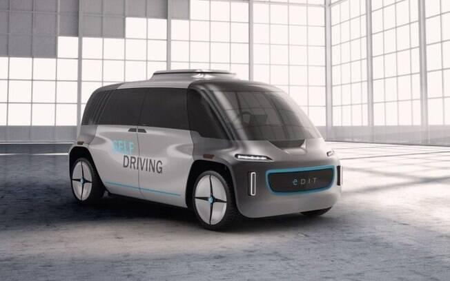 O Edit Self driving é o estudo sobre um modelo autônomo modular entre marcas de carro