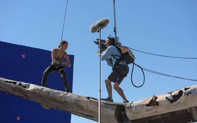 Alicia Vikander e os desafios reais nos sets de Tomb Raider: A Origem