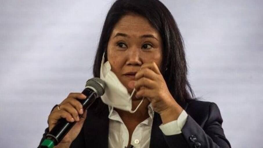 Procuradoria do Peru investiga Keiko Fujimori por suspeita de suborno