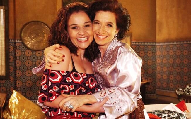 Cláudia Rodrigues e Tuna Duek em episódio de
