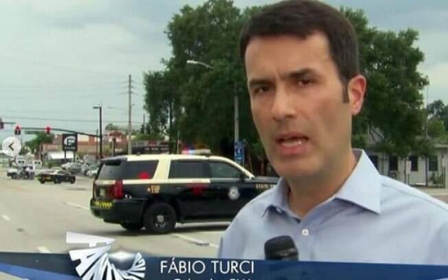 Fabio Turci, correspondente da Globo nos EUA, volta para o Brasil