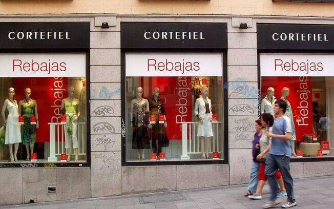 Na Espanha, o período de liquidações, as rebajas, vão de janeiro até a primeira semana de março