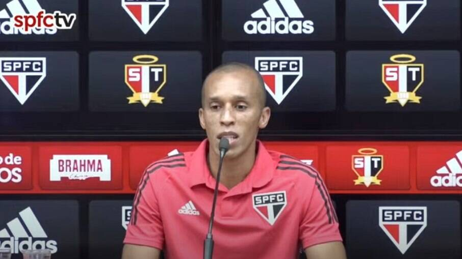 Miranda foi inscrito pelo São Paulo no Paulistão