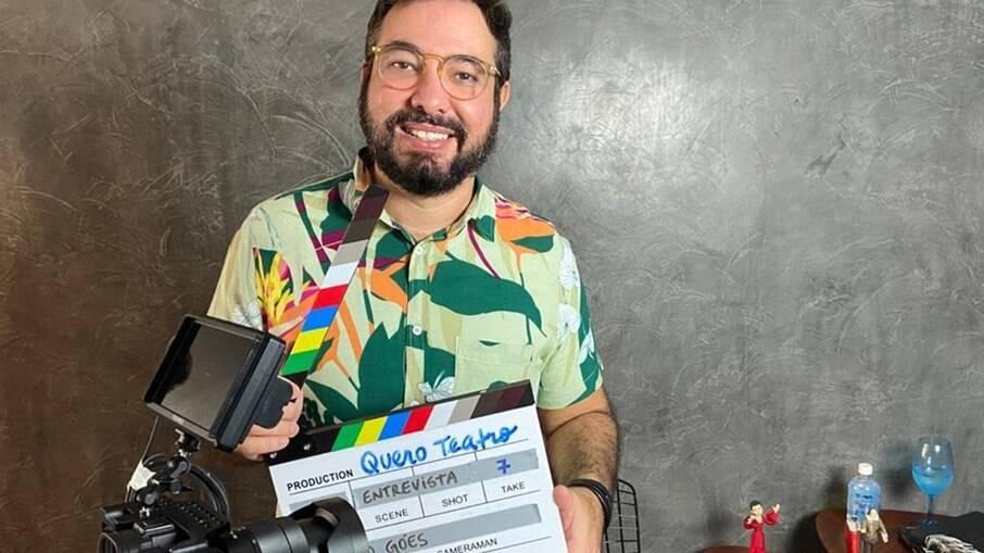 Paulo Fernando Góes, apresentador e idealizador do projeto