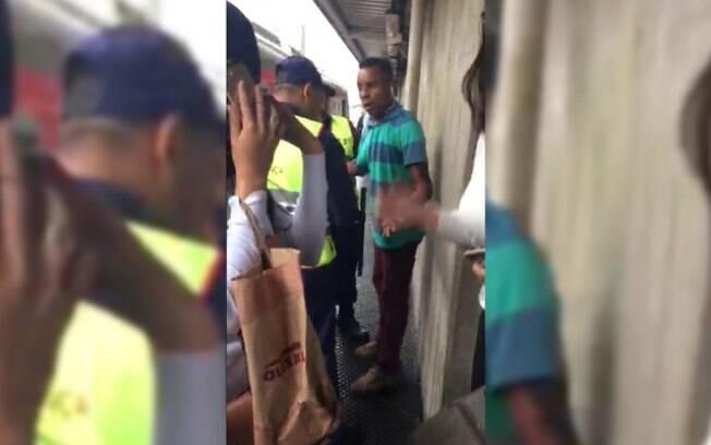 Homem foi detido após ejacular em passageira dentro de um trem da CPTM
