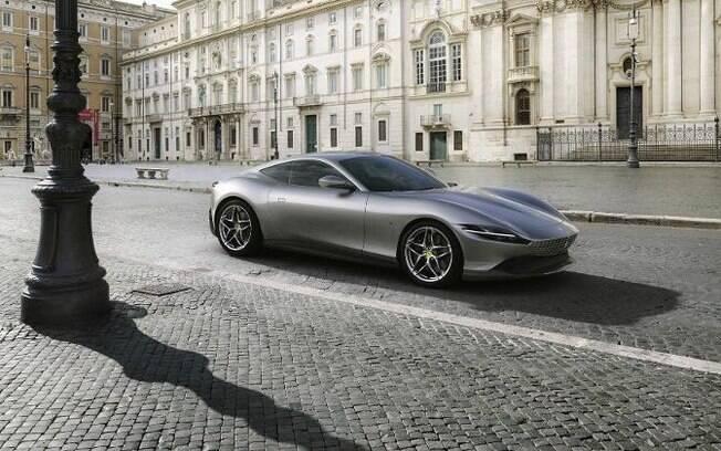Ferrari Roma novo supercarro da marca italiana com alta tecnologia e desempenho de tirar o fôlego