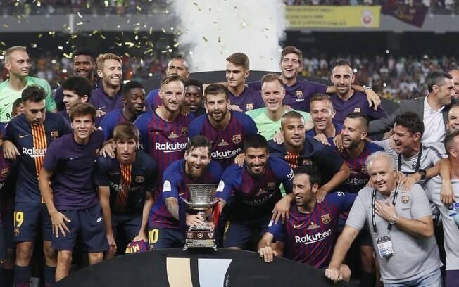 Atual campeão, o Barcelona jogará contra o Girona em Miami
