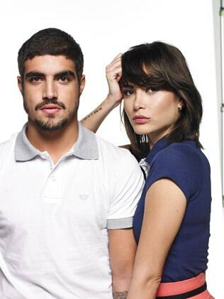 Maria Casadevall e Caio Castro: campanha do Dia dos Namorados