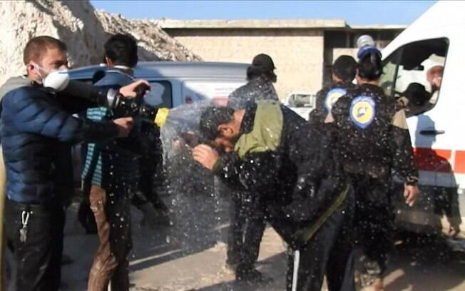 Resultado de imagem para armas quimicas na siria