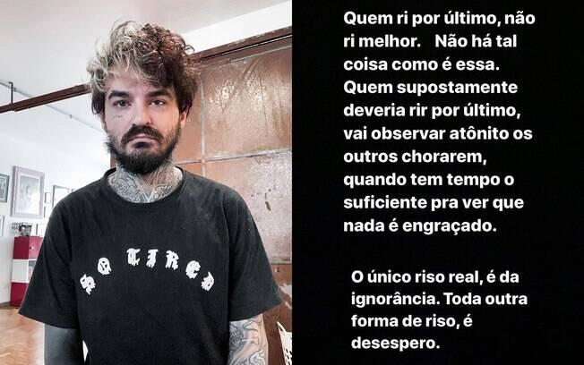 PC Siqueira posta mensagem depois de prestar depoimento