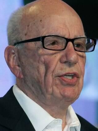 Rupert Murdoch está no terceiro casamento