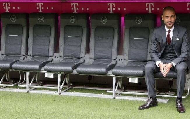 Técnico visitou o estádio do Bayern em  Munique, na Alemanha