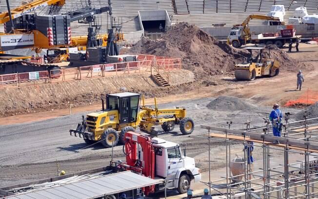 Segundo vice-governador, Maracanã deve ter  70% das obras concluídas até o fim de setembro